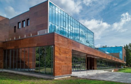 Aluminija logu fasades konstrukcija Riga