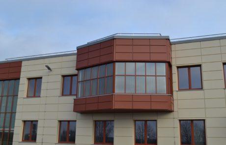 PVC logi aluminija durvis Riga Bolderaja