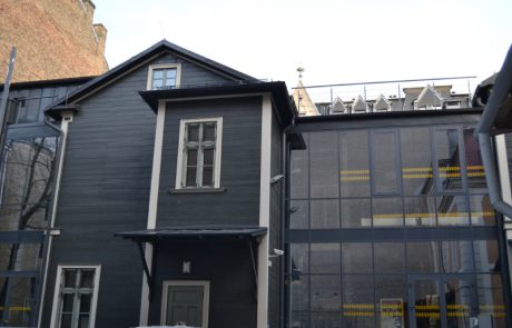 aluminija fasades logi riga latvija