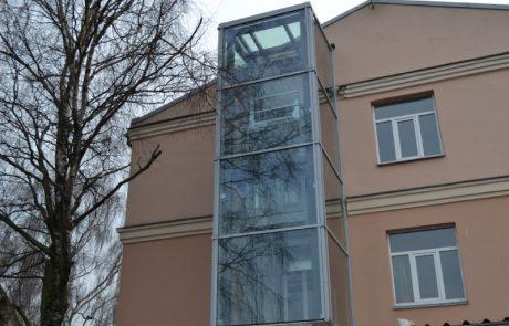 aluminija fasades logi riga pvc
