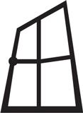 PVC logi, koka logi, plastikāta logi Rīgā, PVC durvis Logo