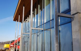 PVC logi PVC durvis lodziju iestiklosana Riga Latvija 4