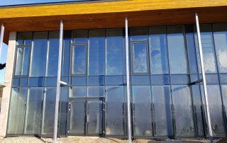 PVC logi PVC durvis lodziju iestiklosana Riga Latvija 5