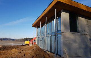 PVC logi PVC durvis lodziju iestiklosana Riga Latvija 8