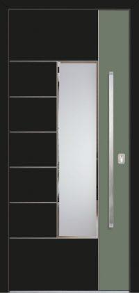 Ekskluzīvas Alumīnija durvis Rīga Latvija 1